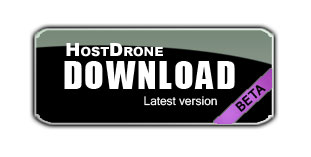 Download hostdrone button